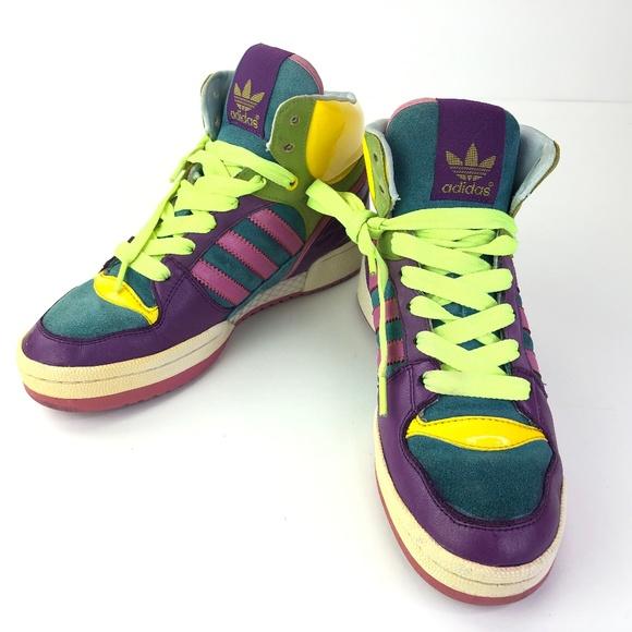 Adidas Originals High Top Retro Rainbow